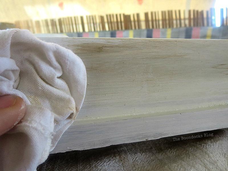 wiping glaze, A pretty Girl gets a surprise www.theboondocksblog.com