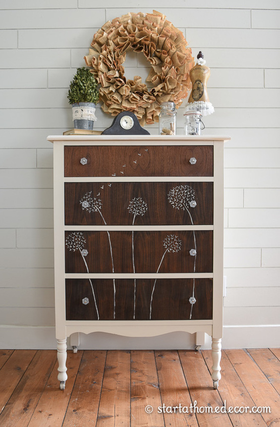Dandelion Dresser, Start at Home Decor