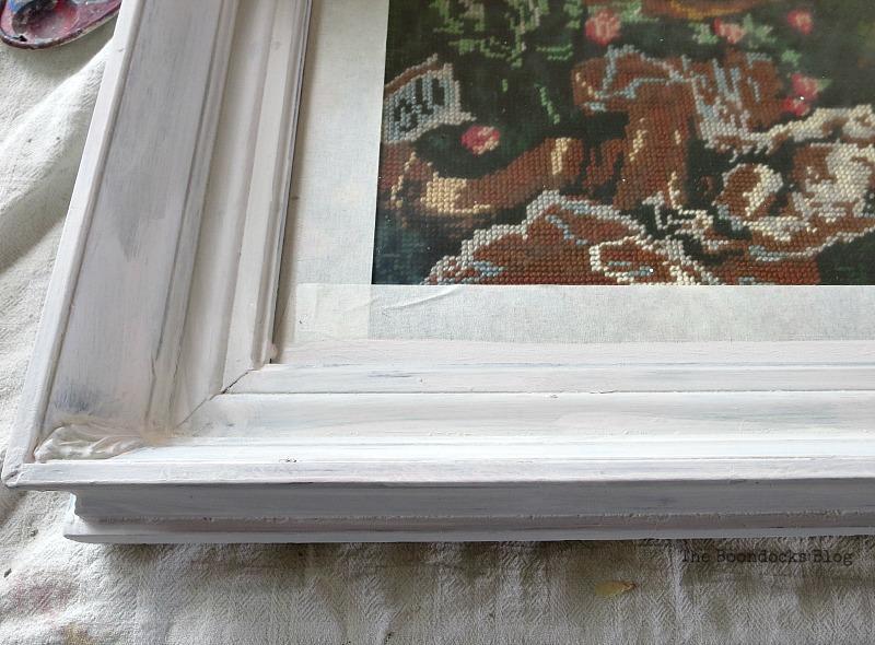 3 coats of chalk paint, A pretty Girl gets a surprise www.theboondocksblog.com