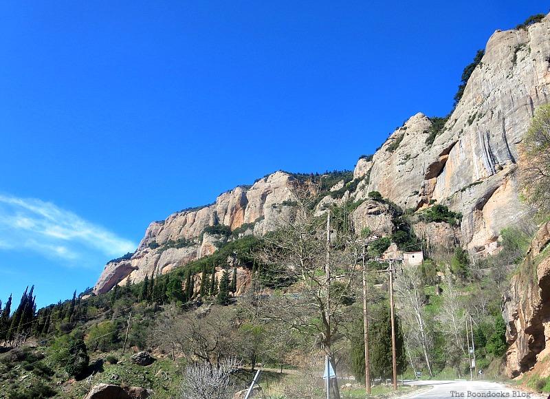 Majestic  Rocks, The Majestic Mountains of Greece www.theboondocksblog.com
