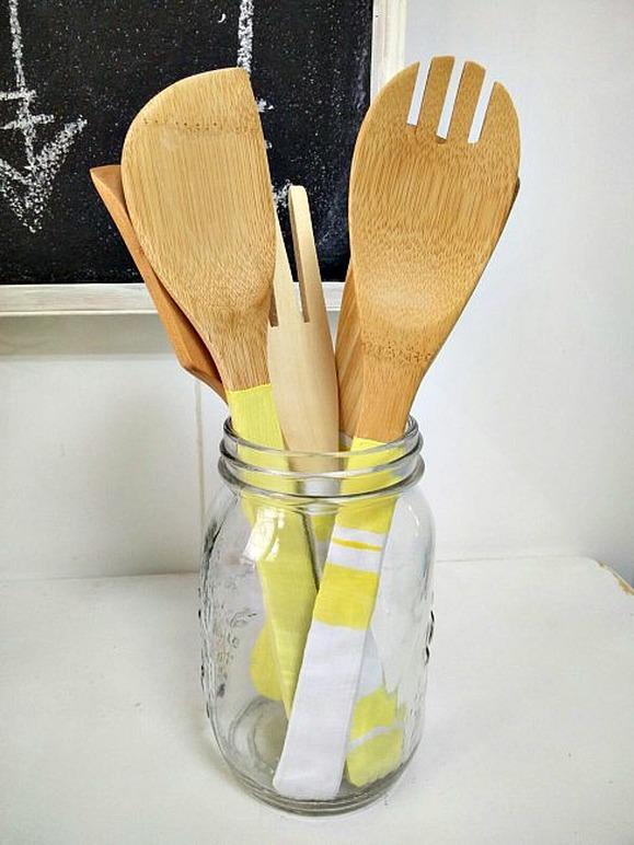 Kitchen utencil upcycle KreativK Last Minute DIY Mother's Day Gifts www.theboondocksblog.com