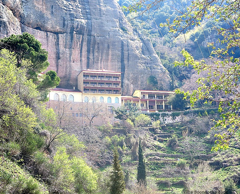 A Monestary on the side of the mountain, The Majestic Mountains of Greece www.theboondocksblog.com