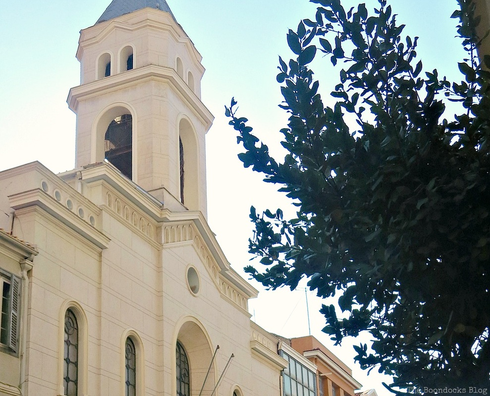 The bell tower of a church in Patra, Greece - A recap of my Facebook photos from June www.theboondocksblog.com