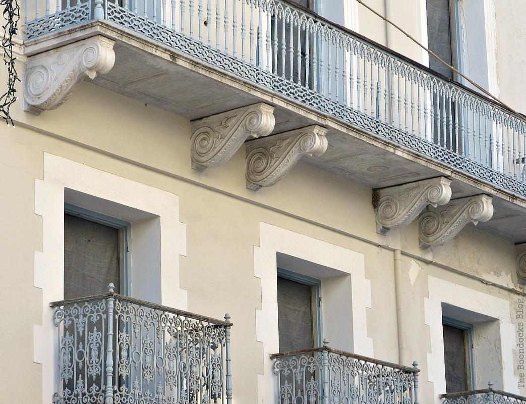 Ornate balconies, A recap of my Facebook photos from June www.theboondocksblog.com