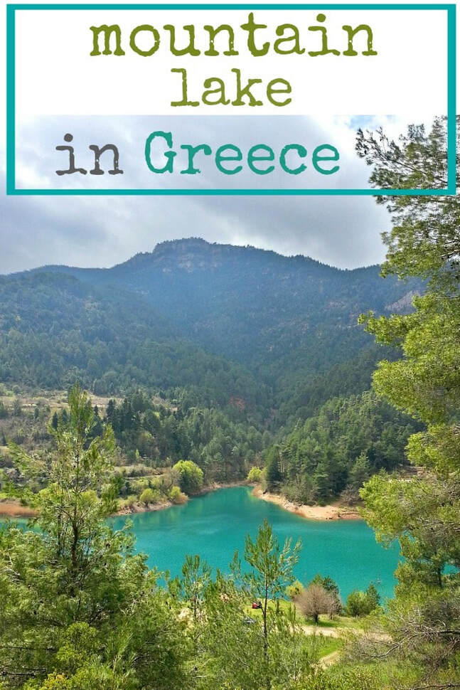 A trip to a lake in the mountains of Greece and the colors it evokes. a photo essay, #photography #photoessay #Greece #Greecelake #LimniTsiblou #Laketour #mountainsinGreece #LakeinGreece #colorsofthelake #lakecolors #landscape the colors of the lake, www.theboondocksblog.com