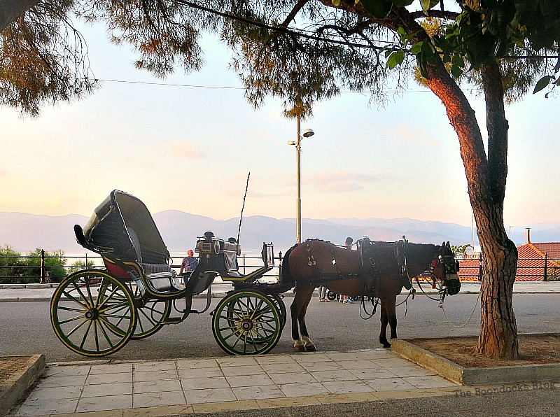 Horse drawn carriage, Summer Activities in Greece Int'l bloggers Club Challenge theboodocksblog.com