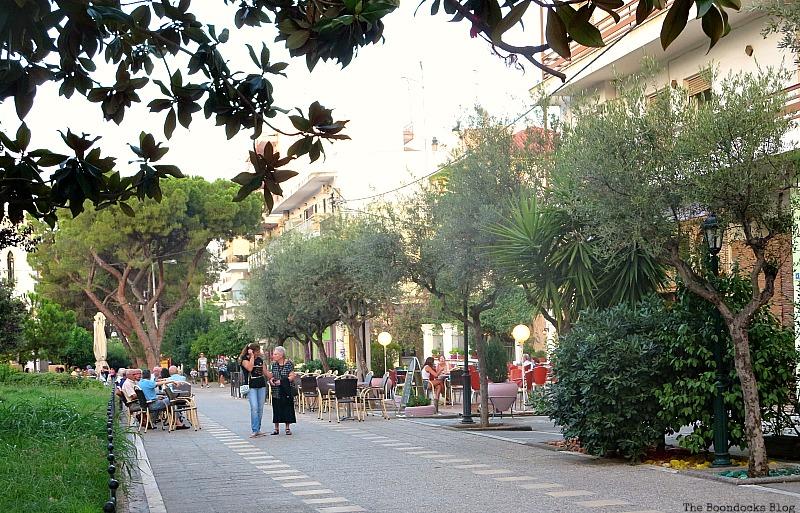 Beautiful outdoor space, Summer Activities in Greece Int'l bloggers Club Challenge theboodocksblog.com