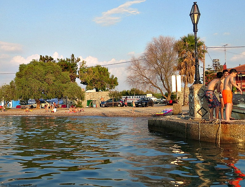 Beach fun, Summer Activities in Greece Int'l bloggers Club Challenge theboodocksblog.com
