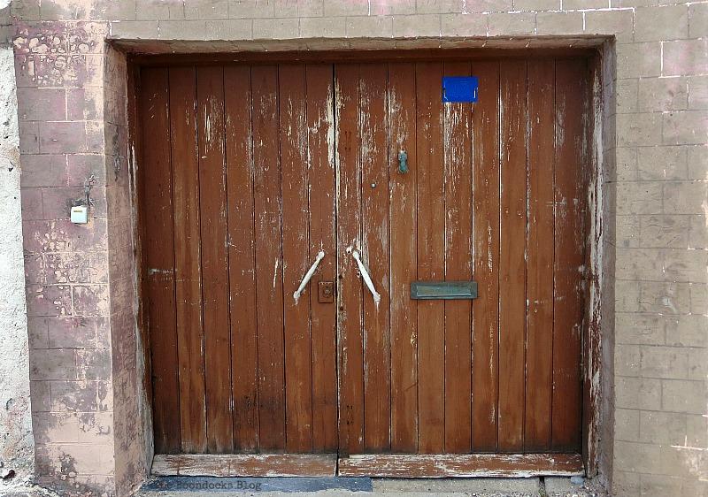 Worn wooden gate, Doors and a Sorta Blogoversary www.theboondocksblog.com