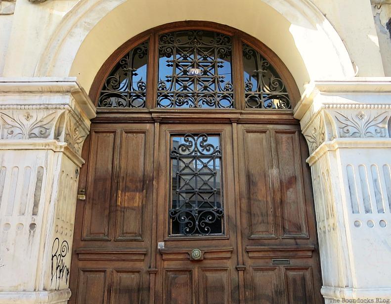 Wooden church door, Doors and a Sorta Blogoversary www.theboondocksblog.com
