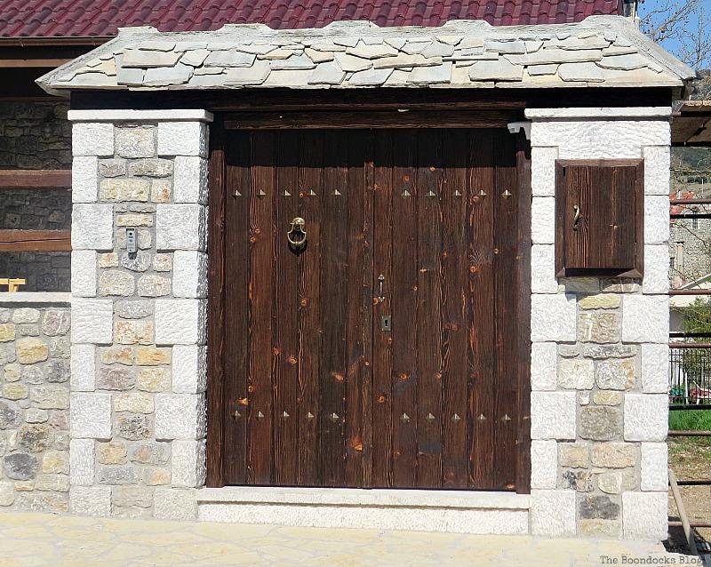 Wooden gate, Doors and a Sorta Blogoversary www.theboondocksblog.com