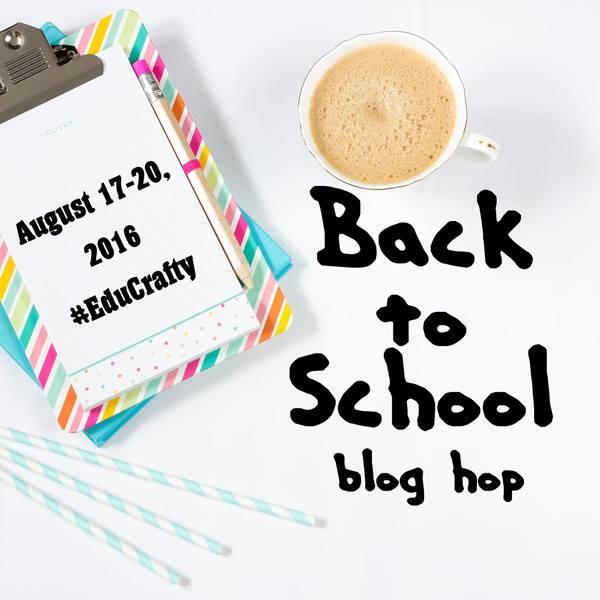 Logo Back to School blog Hop www.theboondocksblog.com