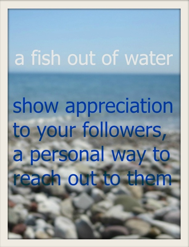 Facebook, a fish out of water and how to grow, a guest post www.theboondocksblog.com