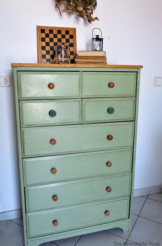 Finished dresser, How to save an Ikea Pine Dresser www.theboondocksblog.com