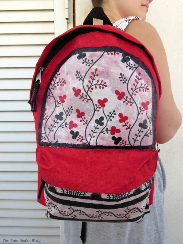 All ready for school, School Bag Makeover, Int'l Bloggers Club Challenge www.theboondocksblog.com