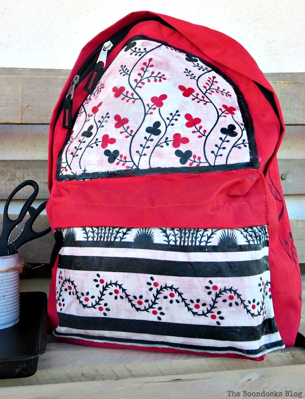 School Bag Makeover, Int'l Bloggers Club Challenge www.theboondocksblog.com