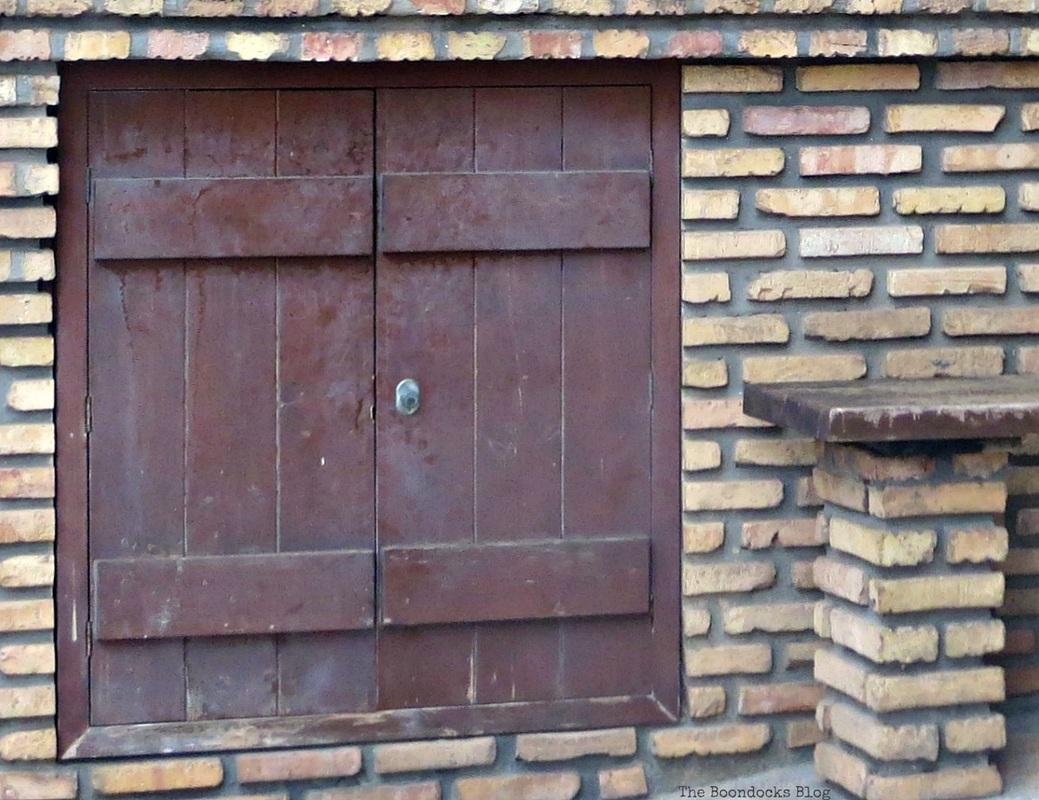 A wooden door, Facebook Photos for August www.theboondocksblog.com