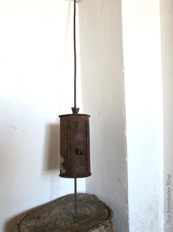 Vintage coffee roaster 2, A Breen Vintage Coffee Roaster Repurpose www.theboondocksblog.com