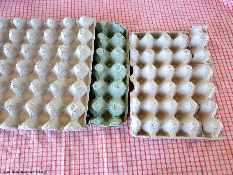 Egg cartons, How to Make Easy Fall Flowers using Egg Cartons www.theboondocksblog.com