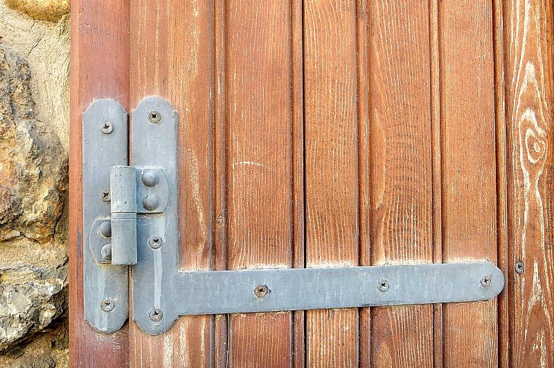 Detail of window shutter, Old Stone Buildings on the Waterfront www.theboondocksblog.com