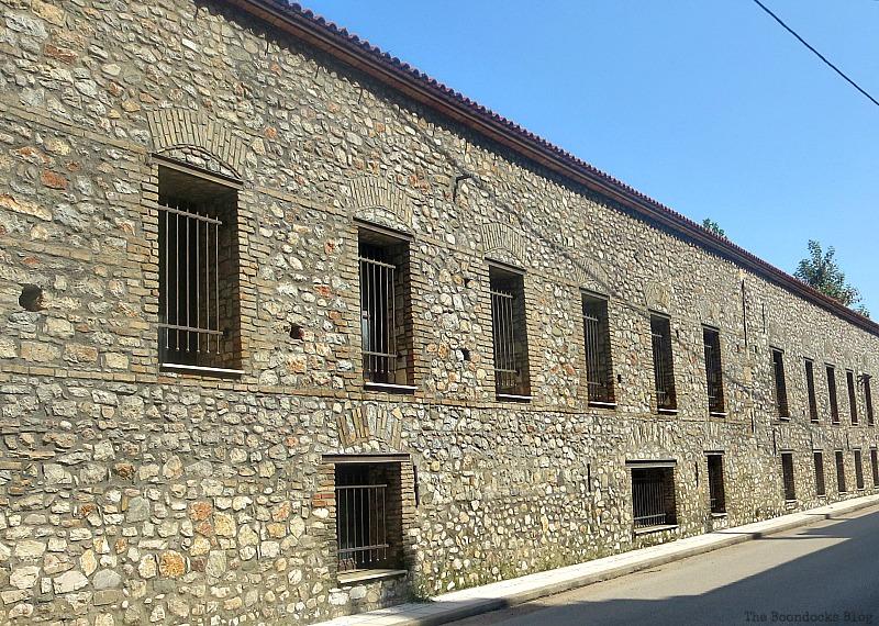 Repaired factory buildings, Old Stone Buildings on the Waterfront www.theboondocksblog.com