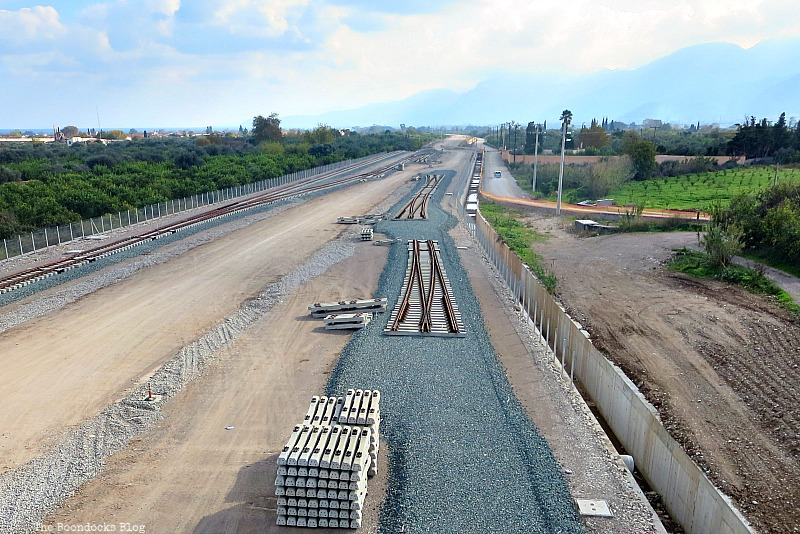 Tracks leading to Athens, The View from the Railroad Overpass www.theboondocksblog.com