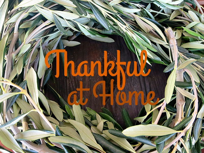 Thankful at Home Logo www.theboondocksblog.com