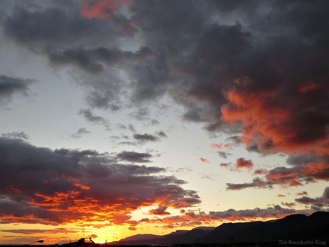A tumultuous sunrise, Facebook Photos for November www.theboondocksblog.com