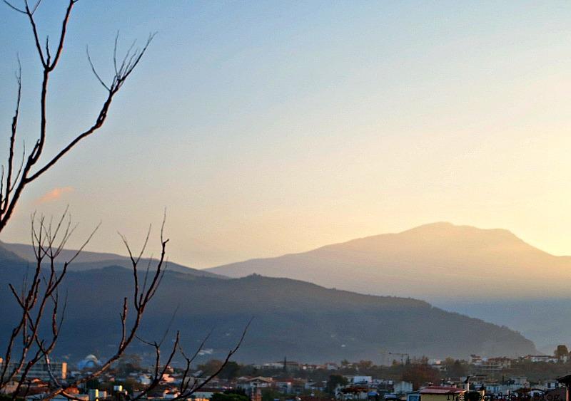 The haze of the sunset, Facebook Photos for November www.theboondocksblog.com