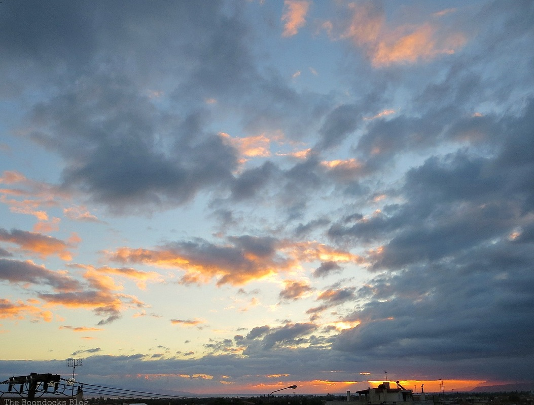 Sunrise in a casual way, A tumultuous sunrise, Facebook Photos for Novemb