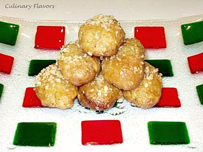 Melomakarona from Culinary Flavors, Christmas Traditions in Greece, Int'l Bloggers Club www.theboondocksblog.com