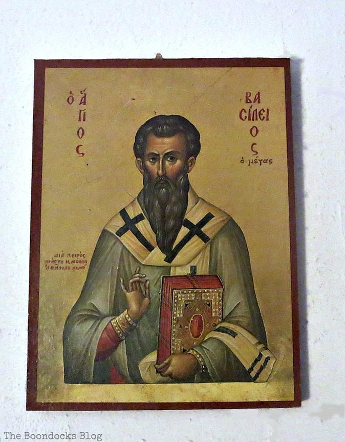 Saint Vasileios, Christmas Traditions in Greece, Int'l Bloggers Club www.theboondocksblog.com