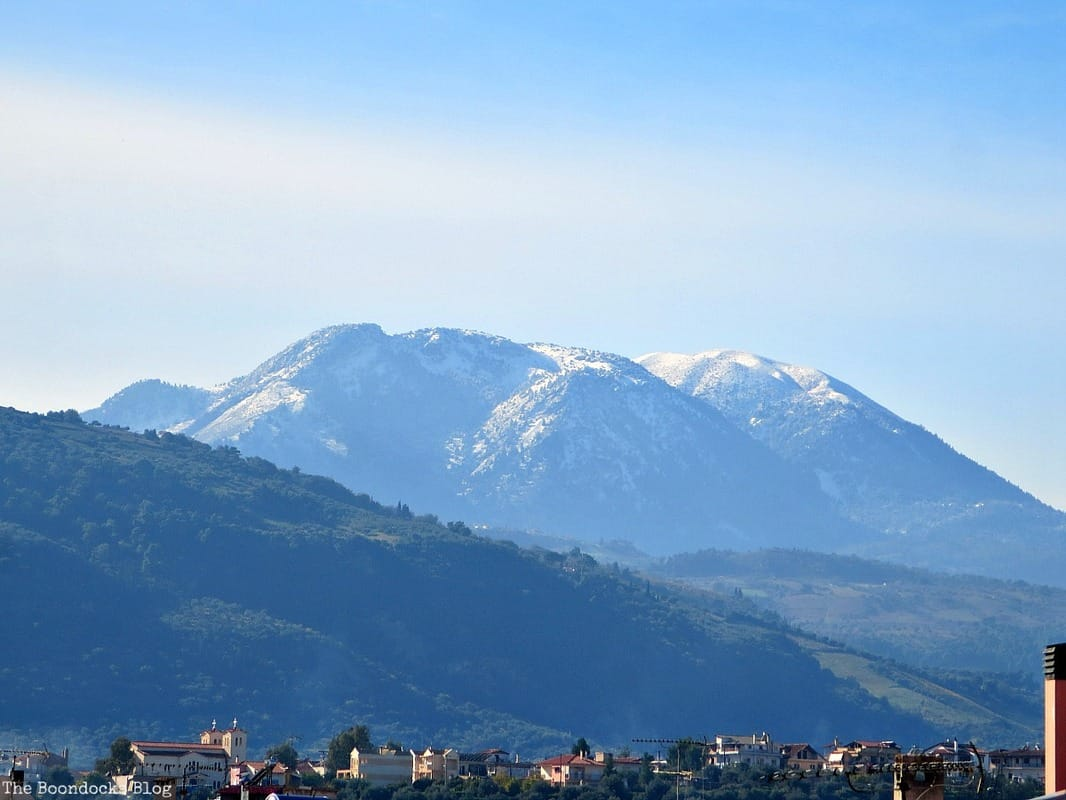 sunny day snowy mountains, Facebook Photos for December www.theboondocksblog.com