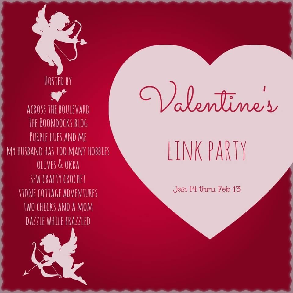 Valentine's Day link party logo