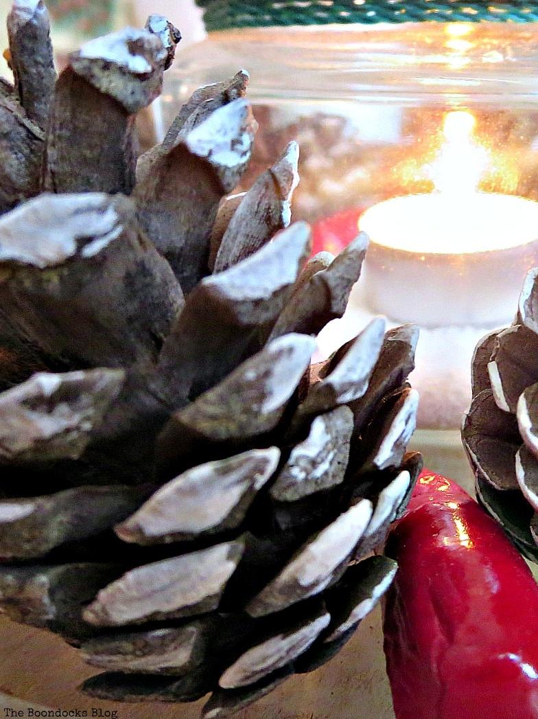 the light next to the pine cone, Facebook Photos for December www.theboondocksblog.com