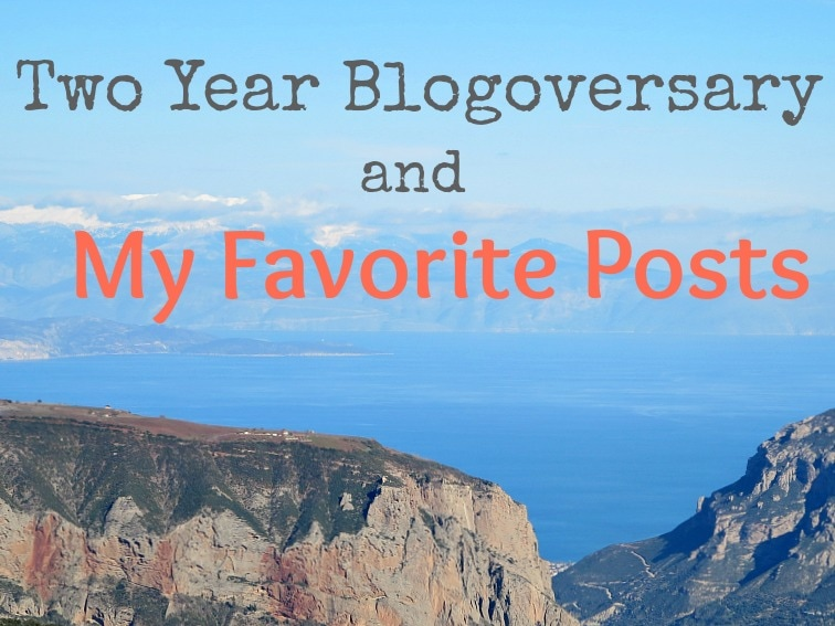 Two Year Blogoversary and my Favorite Posts www.theboondocksblog.com