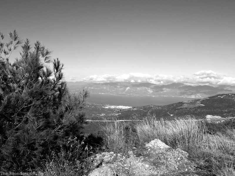 looking down to the valley, Snowy Mountains of Greece, www.theboondocksblog.com