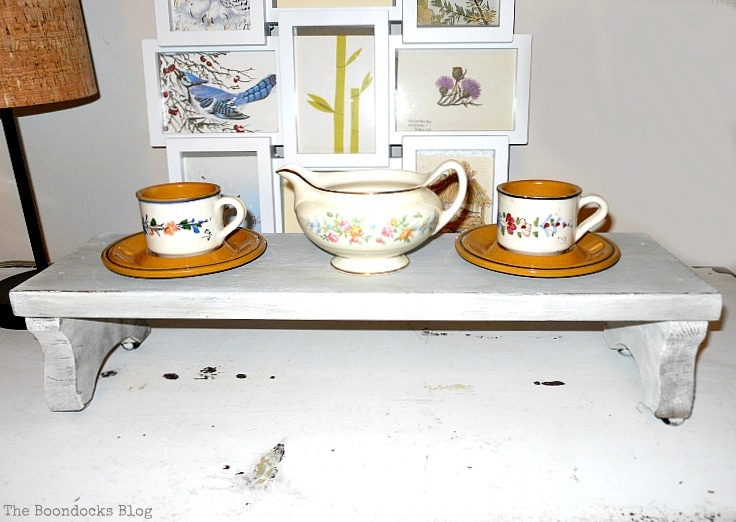 demitasse cups on stool, A glimpse into my world and some odds and ends, www.theboondocksblog.com