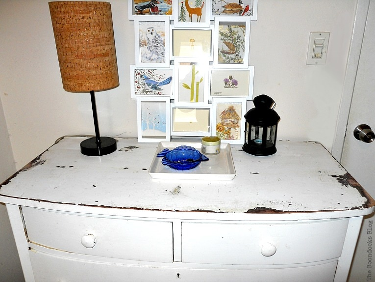 old white dresser, A glimpse into my world and some odds and ends, www.theboondocksblog.com