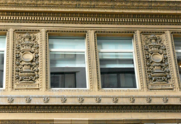 detail of windows, Buildings of New York www.theboondocksblog.com