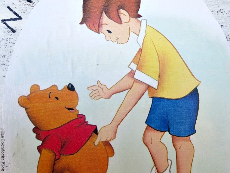 cut out image, How to Make Children's Wall Art www.theboondocksblog.com