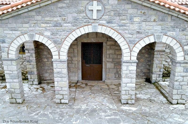 Greek Orthodox church, Facebook photos for April, www.theboondocksblog.com