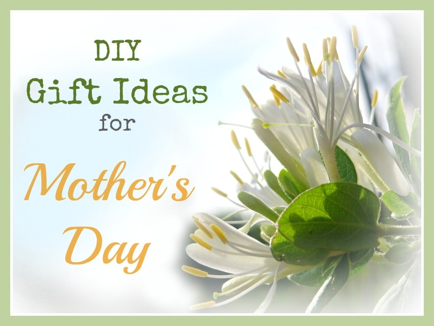 Logo How to Pamper Mom for Mother's Day with DIY Gift Ideas www.theboondocksblog.com