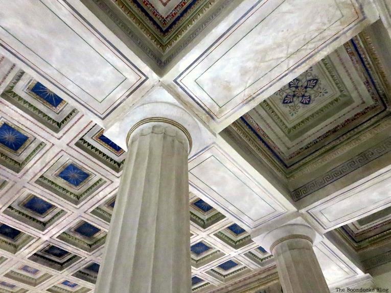 Doric columns, An Old Greek Mansion in the Center of Town, www.theboondocksblog.com