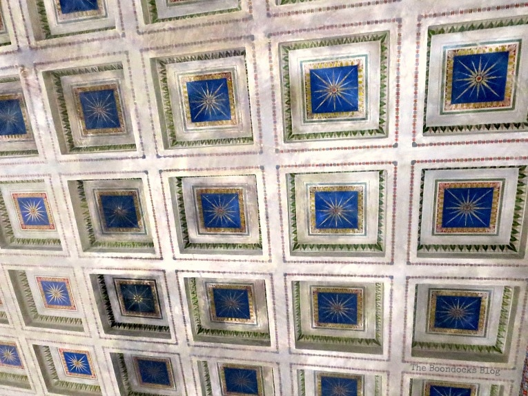 ceiling, An Old Greek Mansion in the Center of Town, www.theboondocksblog.com