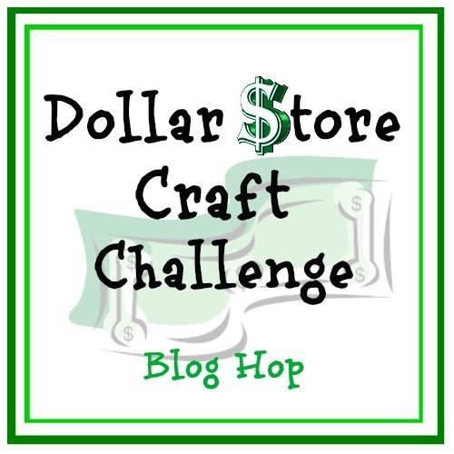Dollar Store Craft Challenge Blog Hop. www.theboondocksblog.com