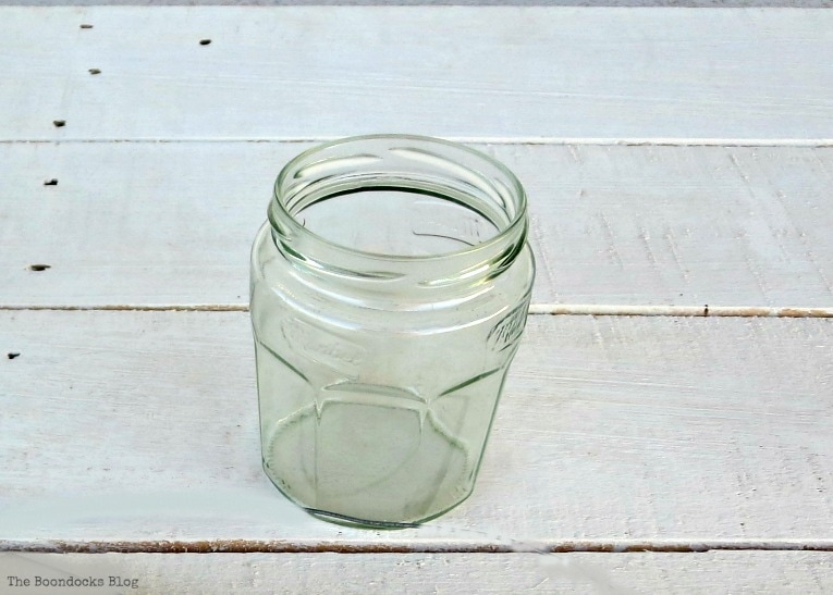 marmalade jar, How to make Simple Lanterns with Repurposed Jars, www.theboondocksblog.com