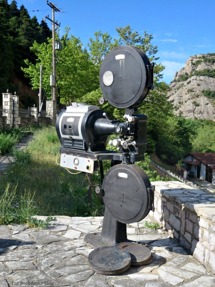 a movie camera, A Road Trip on the Way to the Mountains, www.theboondocksblog.com