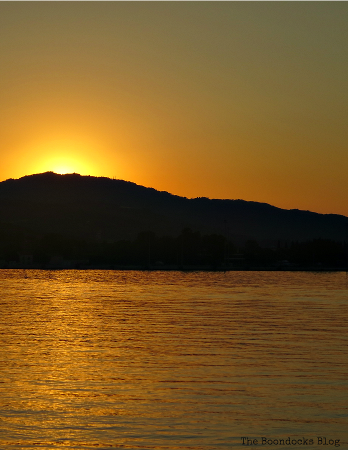 sunset over the hills, Photo of the Day July 2017 www.theboondocksblog.com