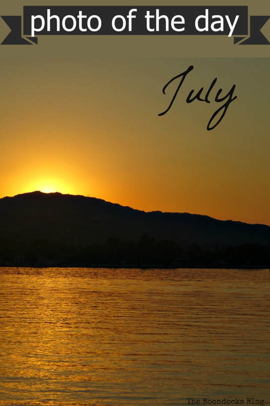 a collection of photos of the day, chosen by my readers for the month of July 2017 which include beach, sunsets, flowers and a kitty, Photo of the Day July 2017 www.theboondocksblog.com
